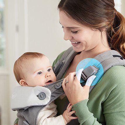 infant in carrier